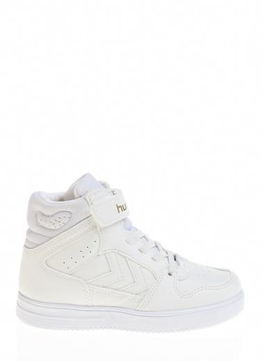 Hummel Çocuk Ayakkabı Power Play Mid 210947-9001 Beyaz
